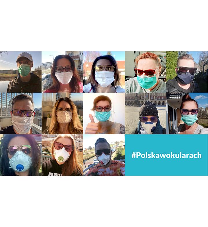 Polska w okularach – Czy okulary chronią przed koronawirusem?