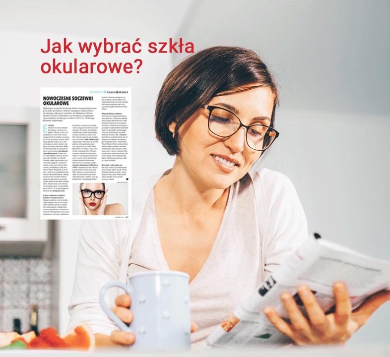 Jak wybrać szkła okularowe?