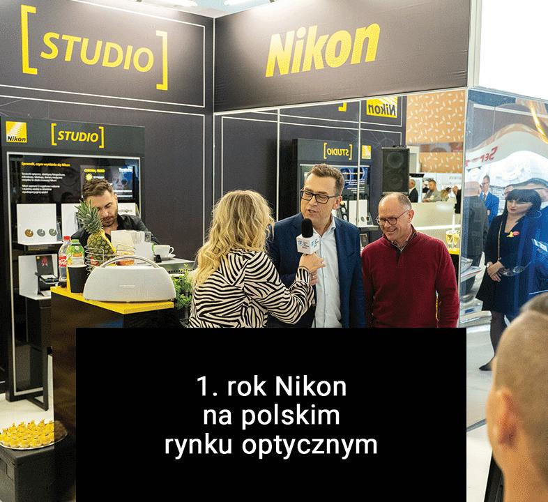 Nikon od roku na polskim rynku optycznym